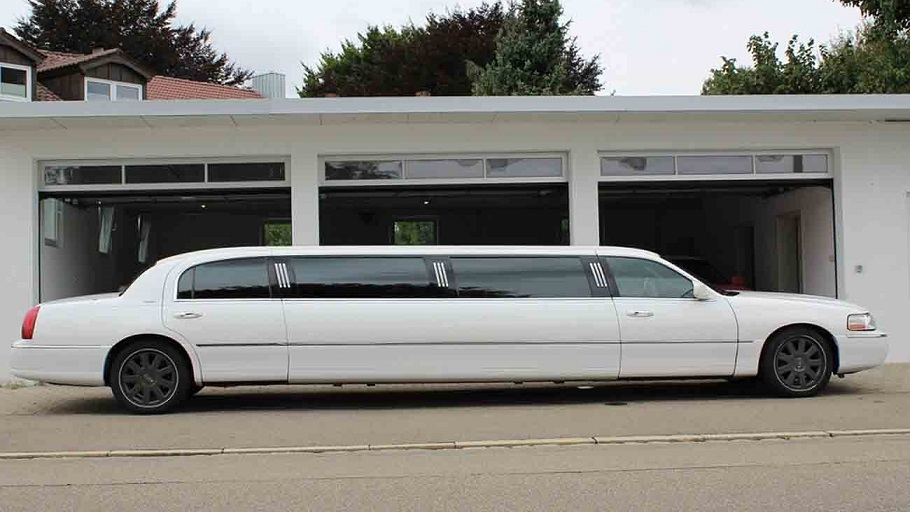 Limo Lincoln weiß